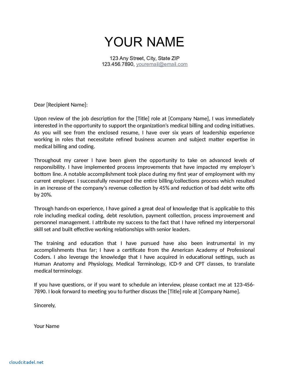 Cover Letter Helper Free