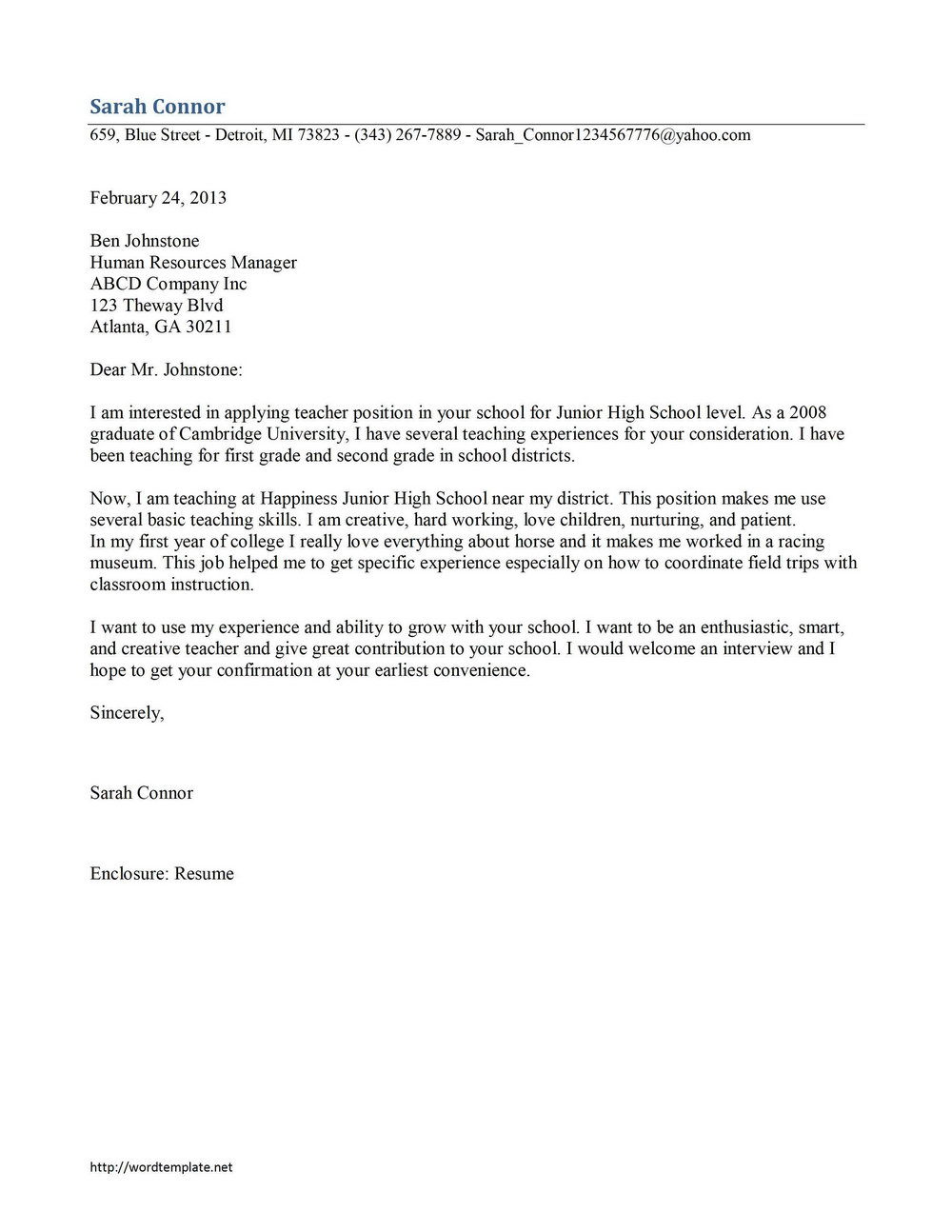Free Cover Letter Samples For Office Assistant Universal