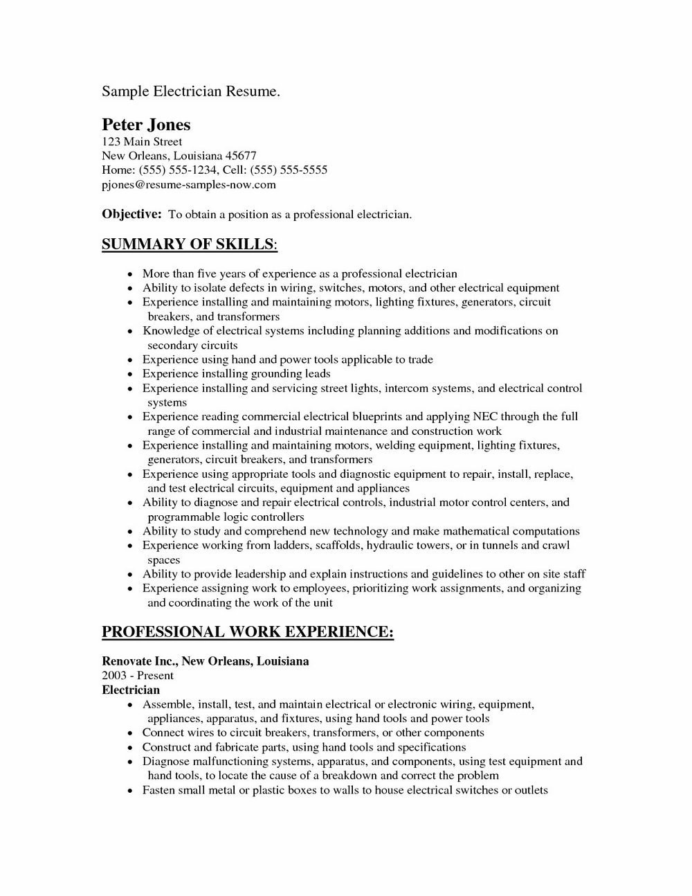 Sample Cover Letter For Hvac Job