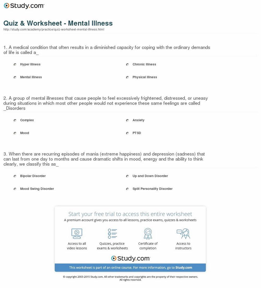 Self Esteem Worksheets For Substance Abuse Groups