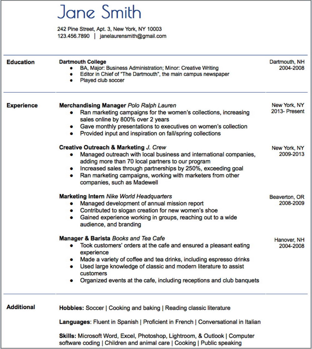 Actually Free Resume Templates
