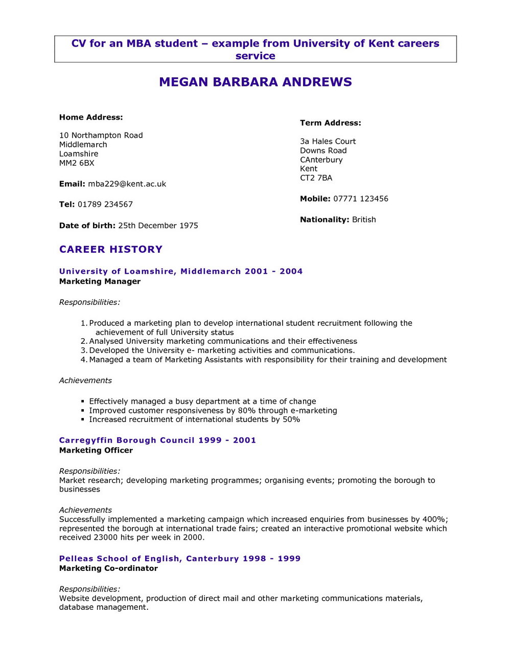 quick resume maker free