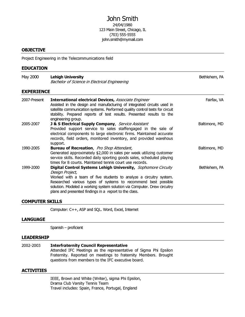 Best Resume Builder For Apple