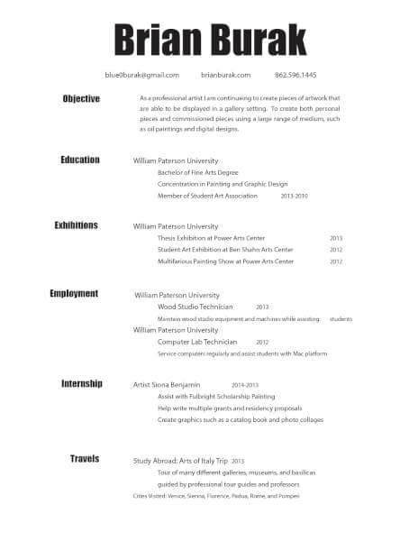 Best Resume Writers San Francisco