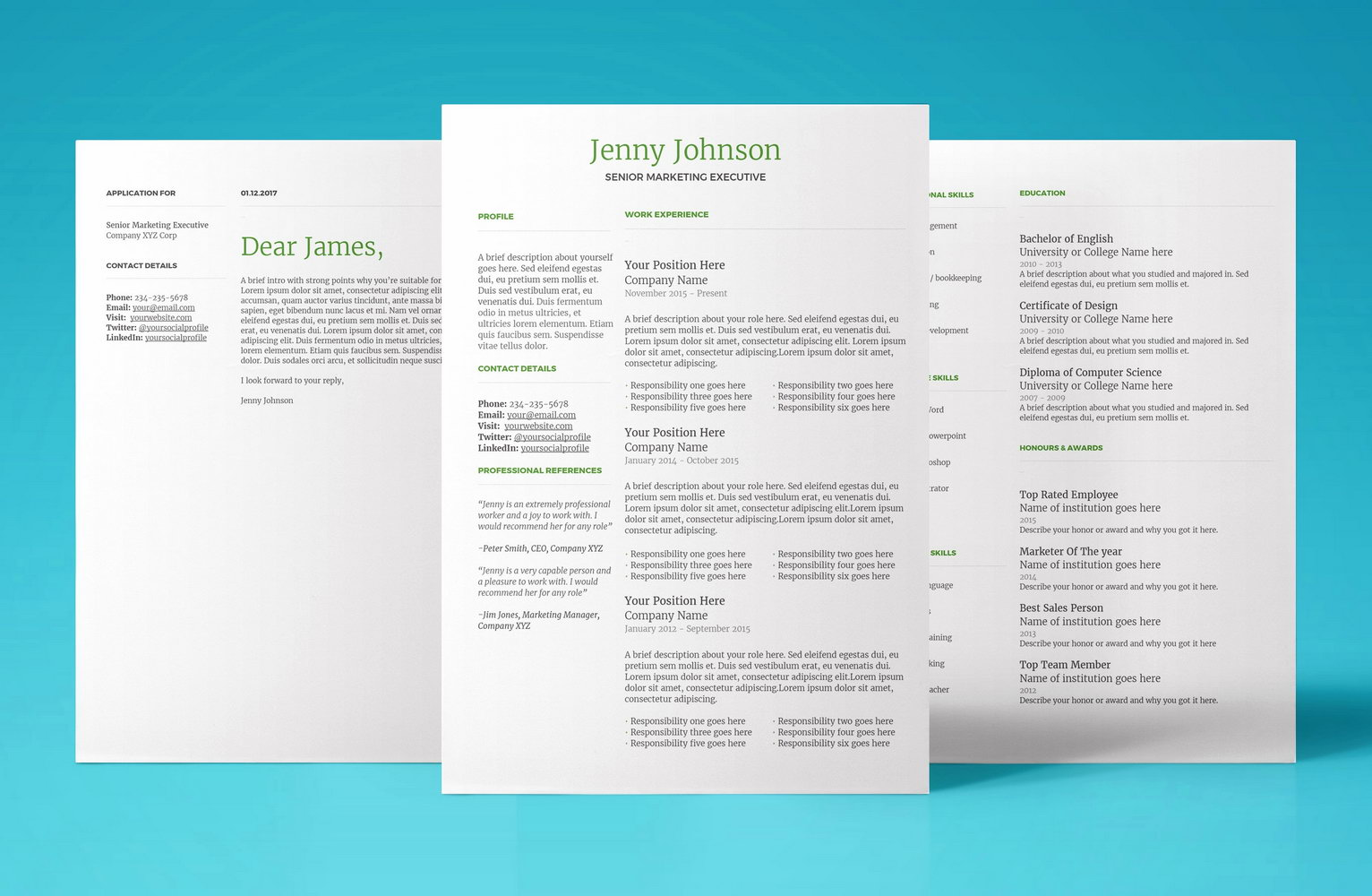 Google Resume Templates 2018 Free