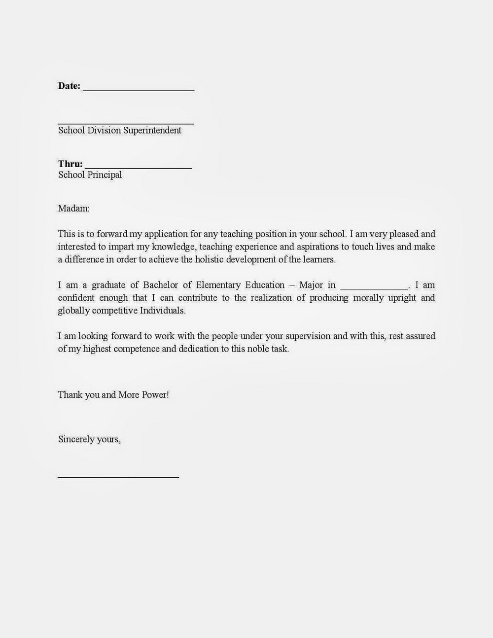 How To Write Application Letter For Job Vacancy Pdf