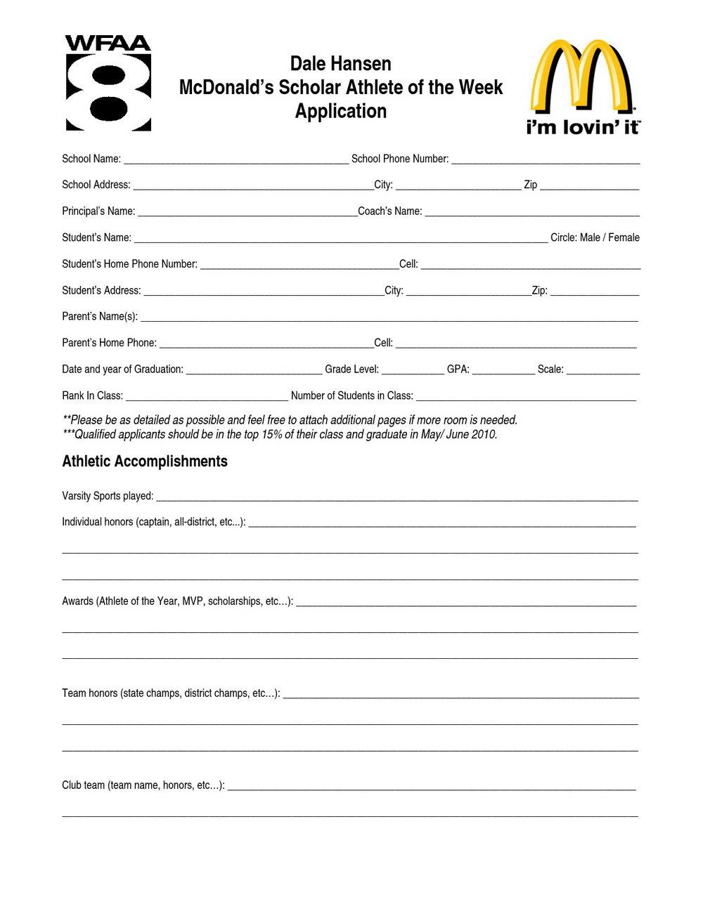 Mcdonalds Online Job Application Canada