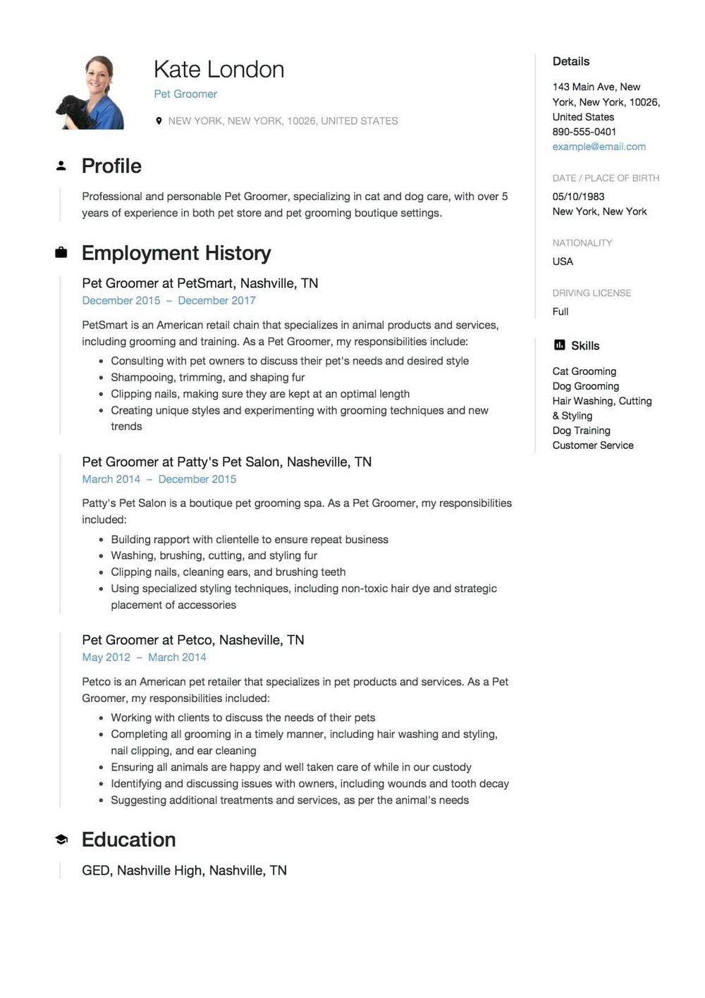 Normal Resume Format Download In Ms Word 2007