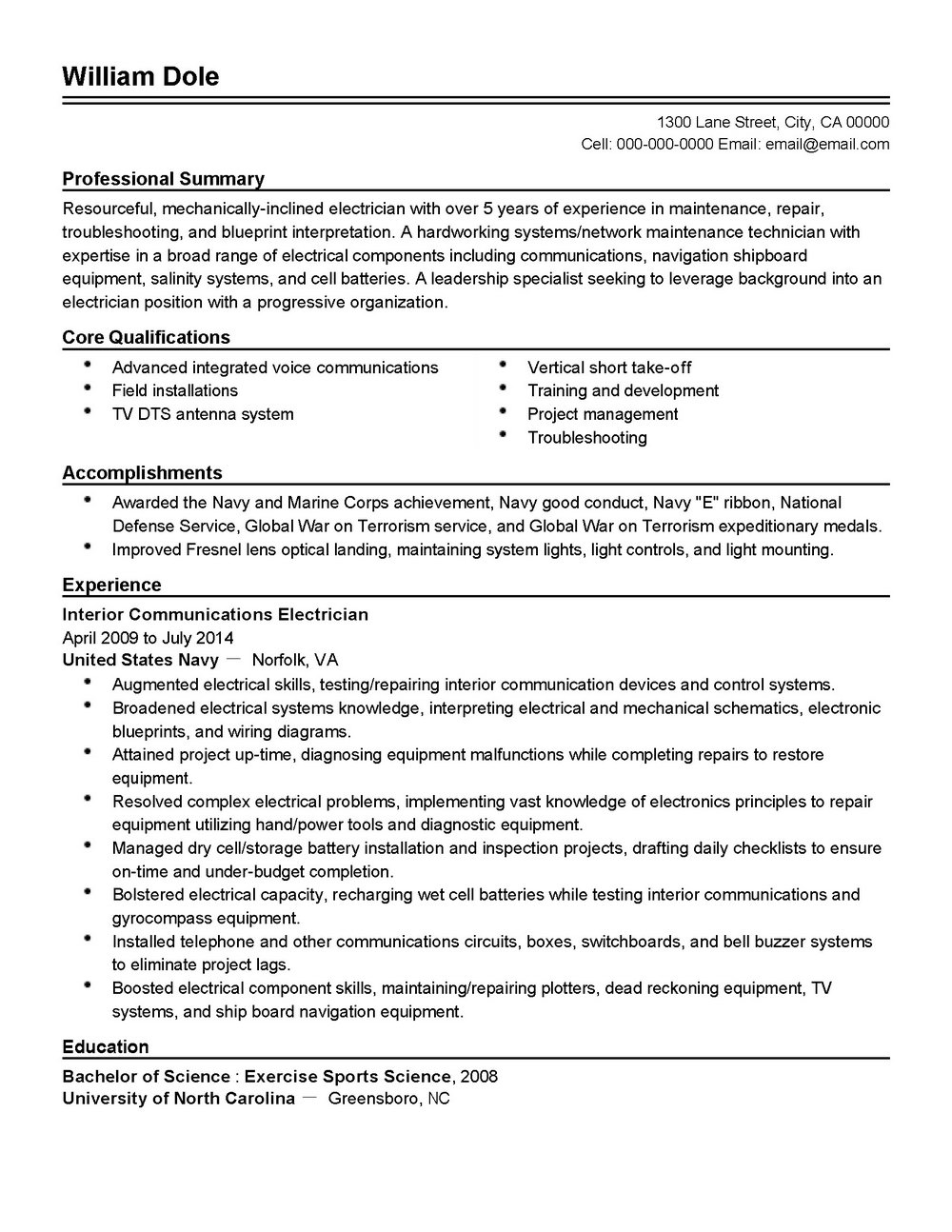Professional Resume Writers Charlotte Nc