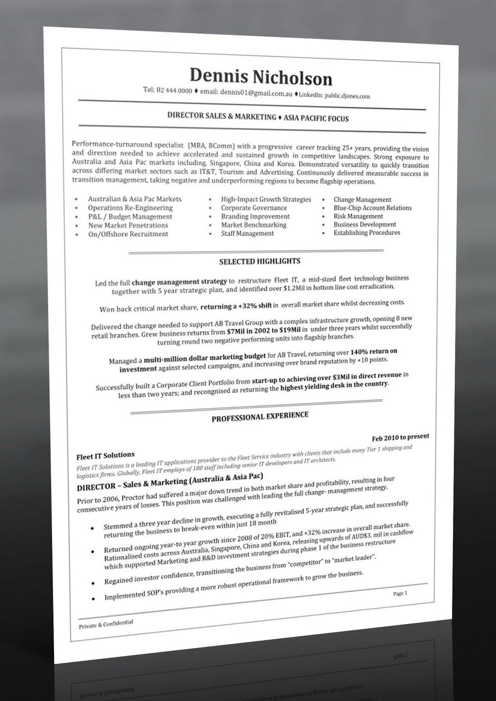 Professional Resume Writing Services Richmond Va