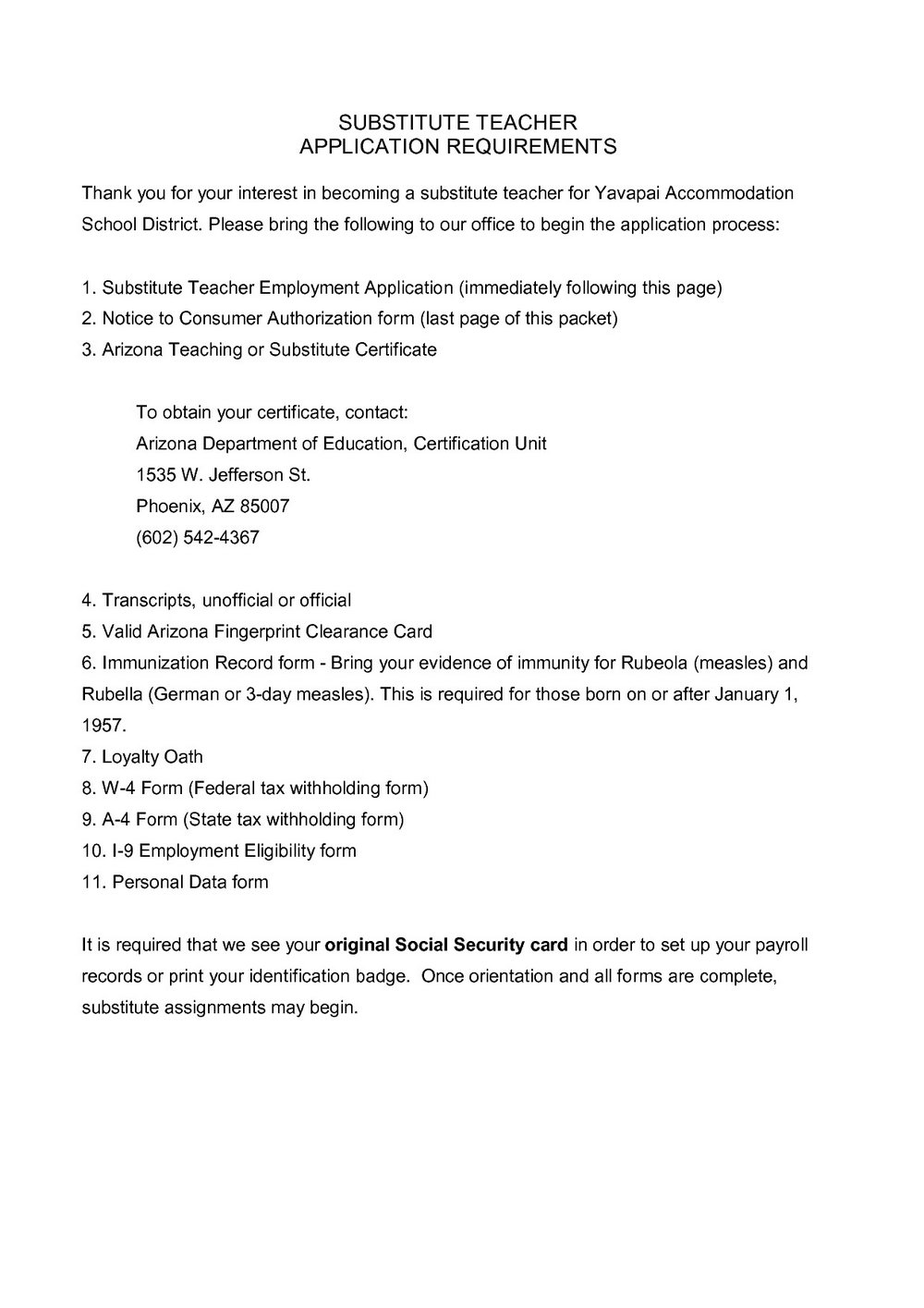 Resume Format For Teaching Job Pdf Download
