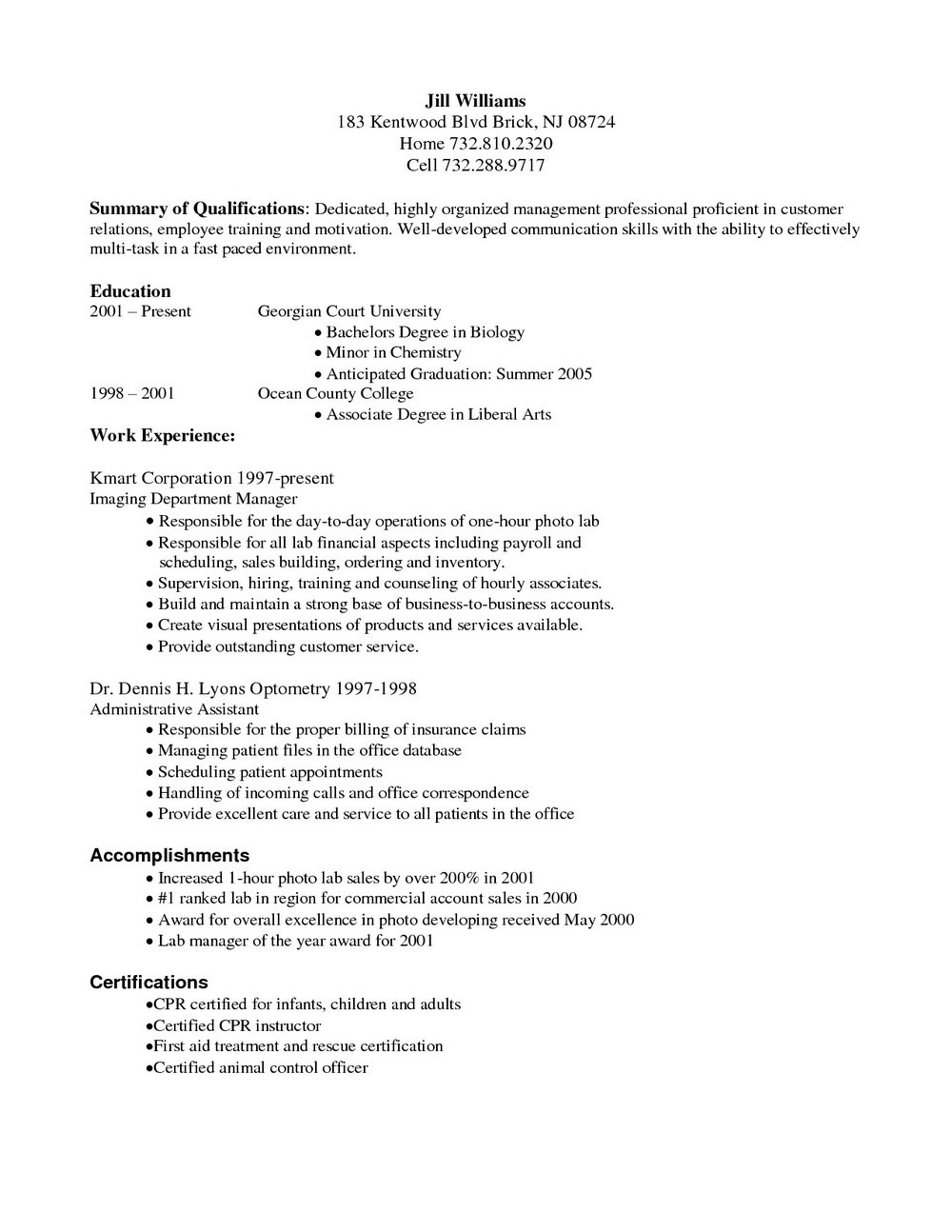 resume for medical coders
