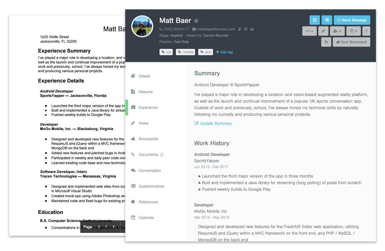 Resume Parsing Open Source