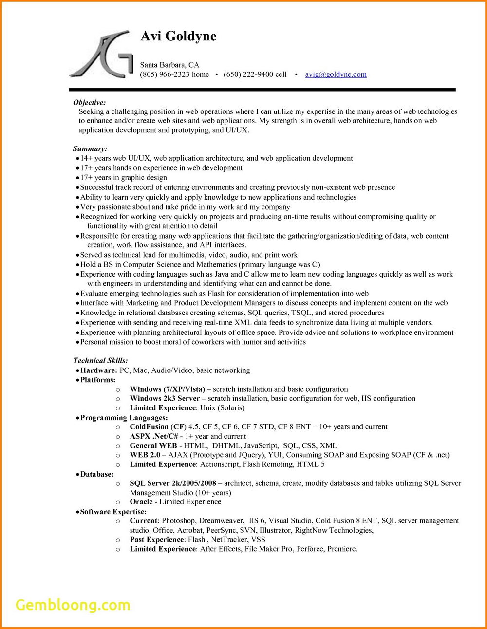 Resume Templates For Mac Word 2008