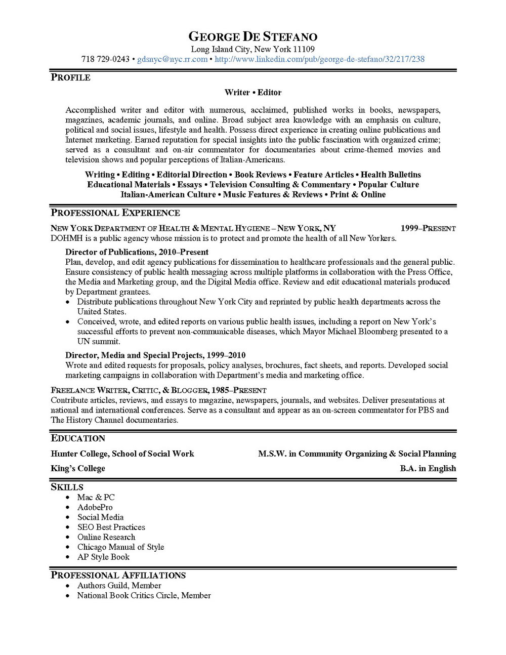 resume writers in gaithersburg md