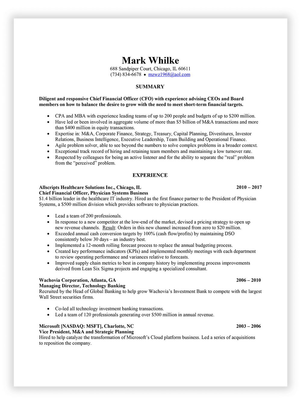 Resume Writing Service Charlotte Nc