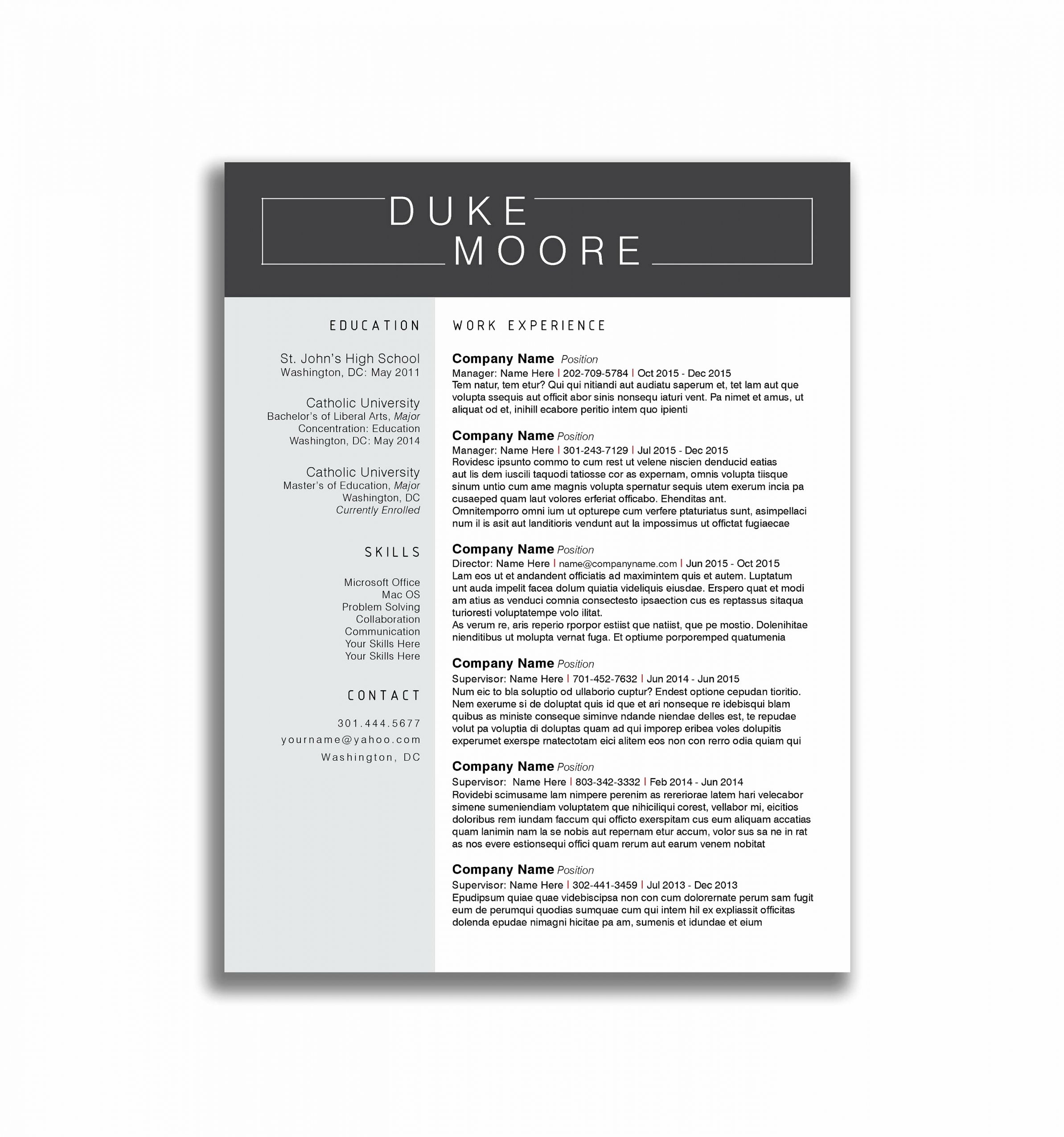 Resumespice Resume Writing Service Houston Tx