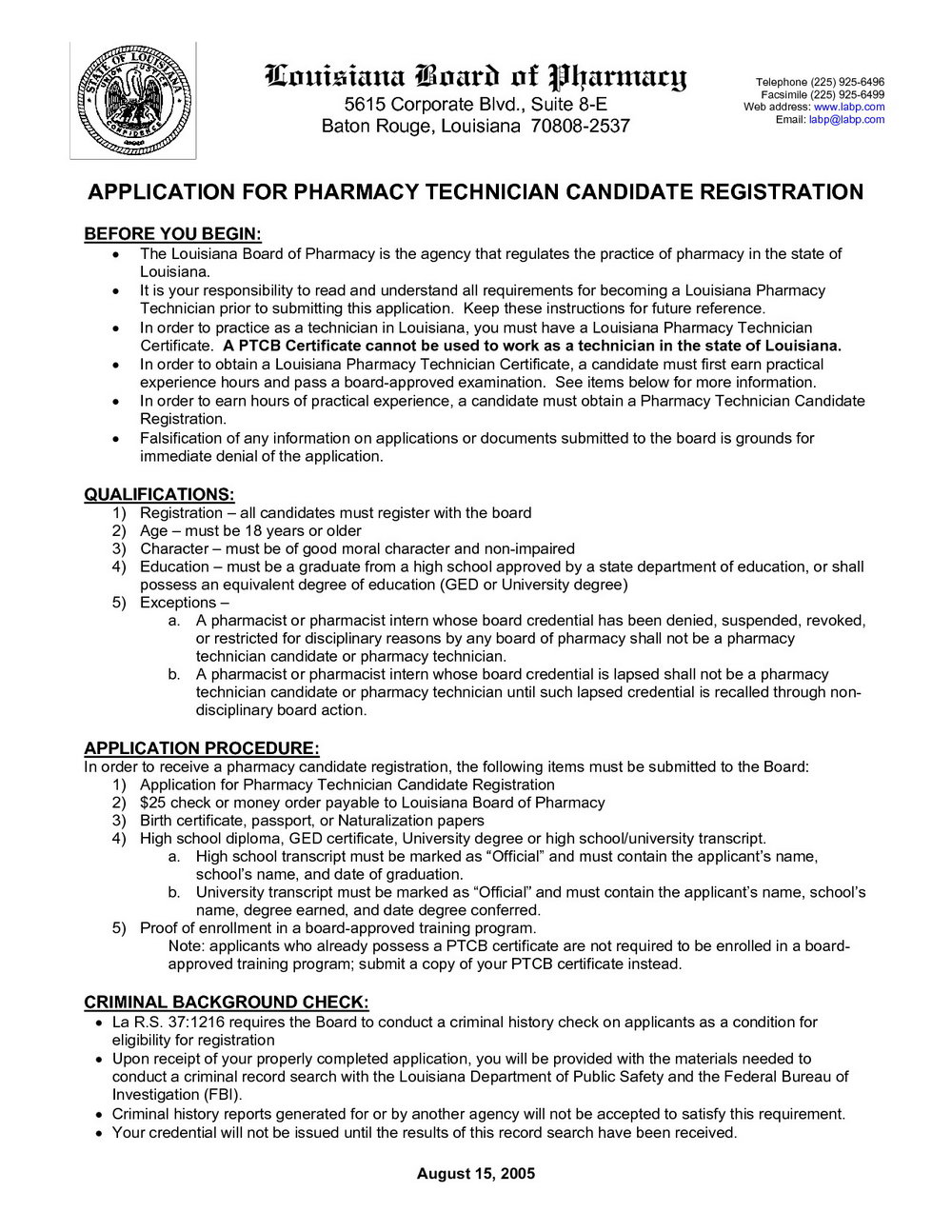 Sample Pharmacy Technician Resume With No Experience