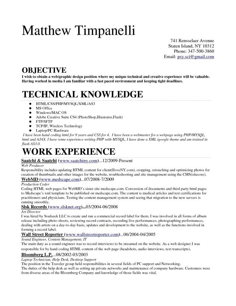 Medical Billing Coding Resume Sample Entry Level Resume In Medic