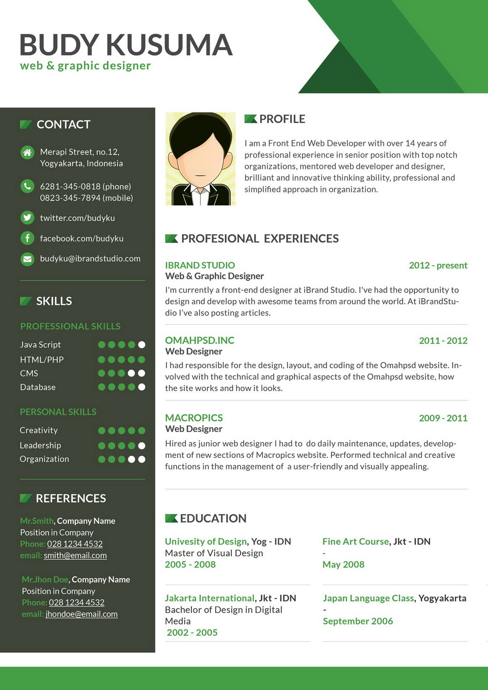 Teacher Resume Format Doc Free Download
