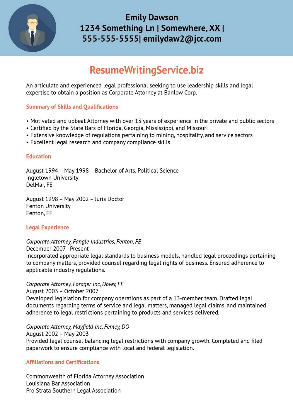 Executive Resume Writing Service Portland Or