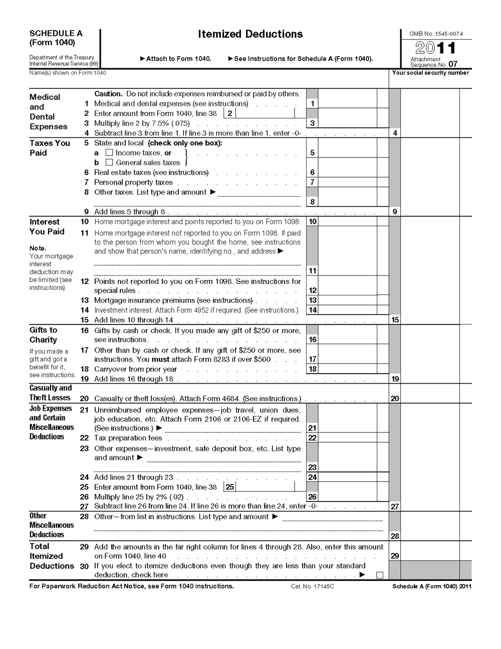 Irs Forms 1040ez 2011