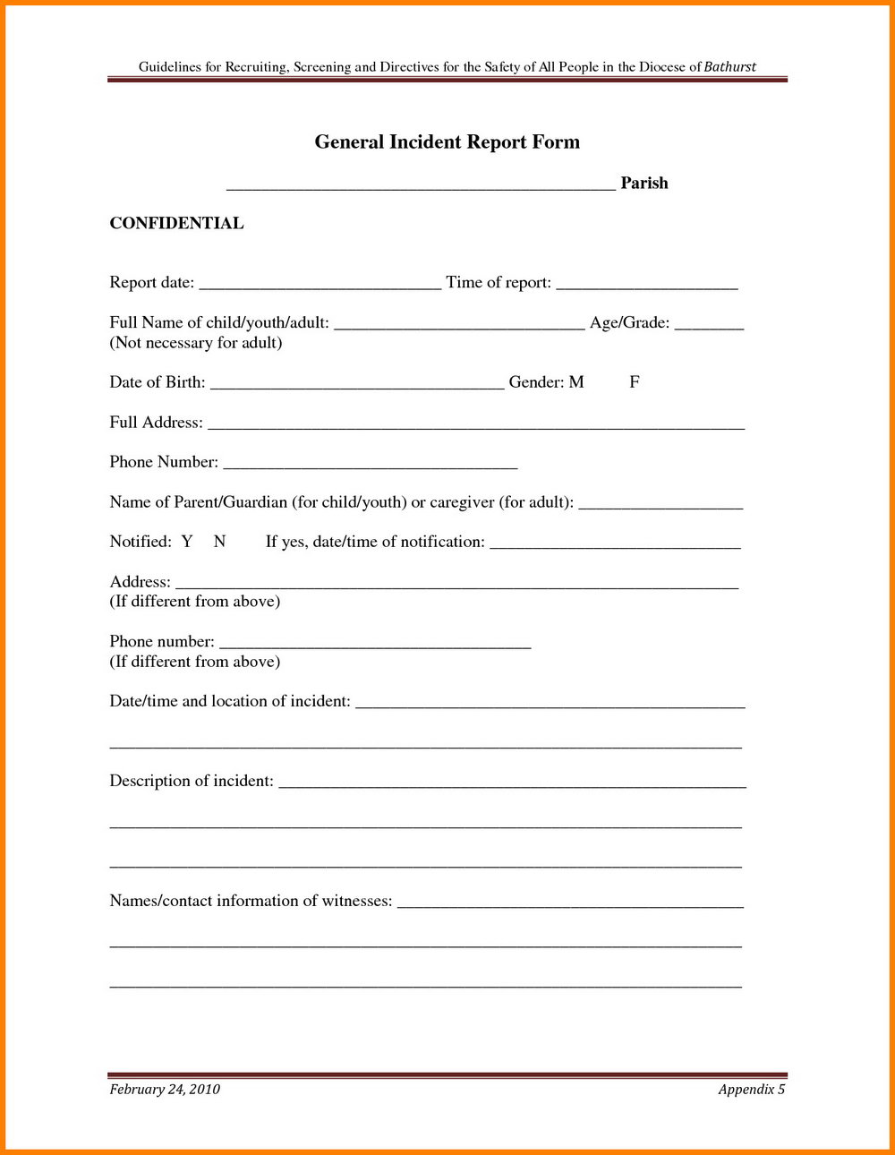 Osha 300a Form Submission