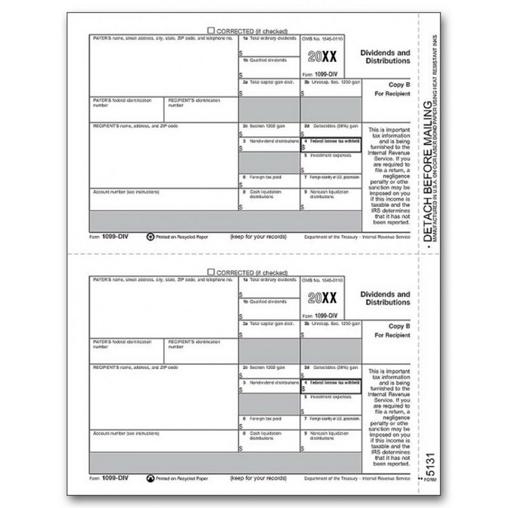 Printable 1099 Forms For Employees