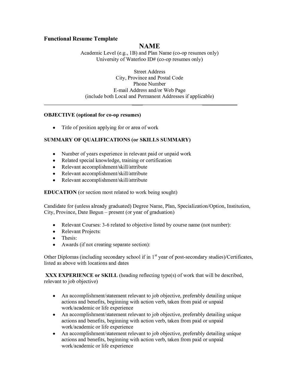 Resume Format Free Download For Mba Fresher