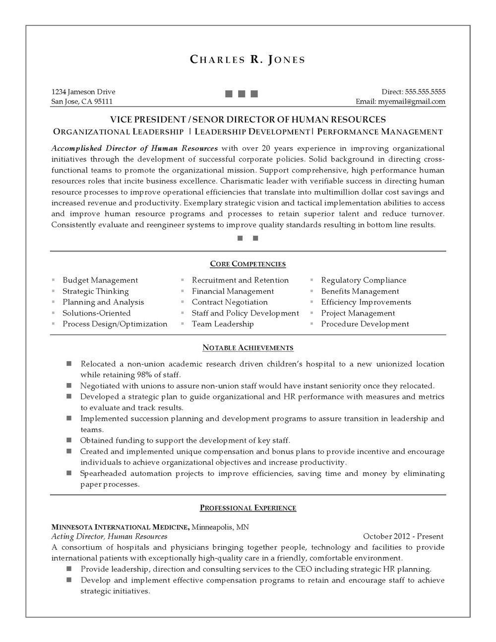 Resume Writing Service Minneapolis