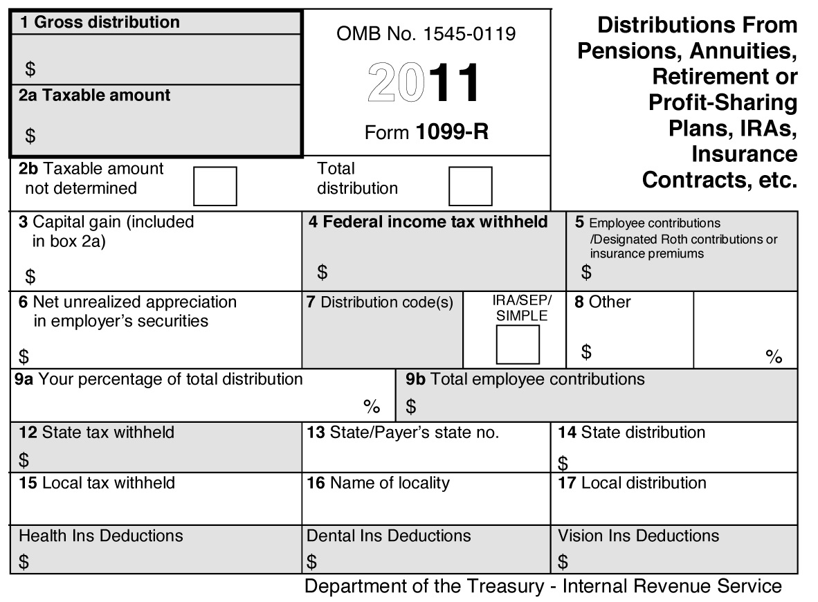 Tax Form 1099 B Instructions