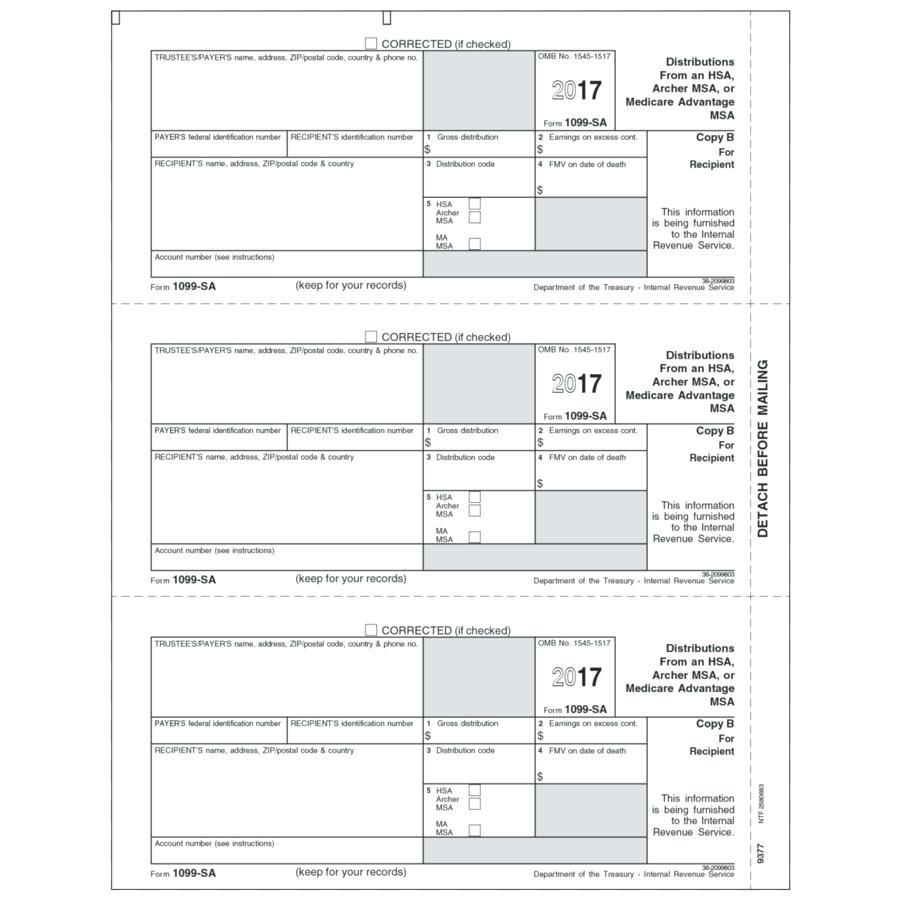 1099 B Tax Form Instructions