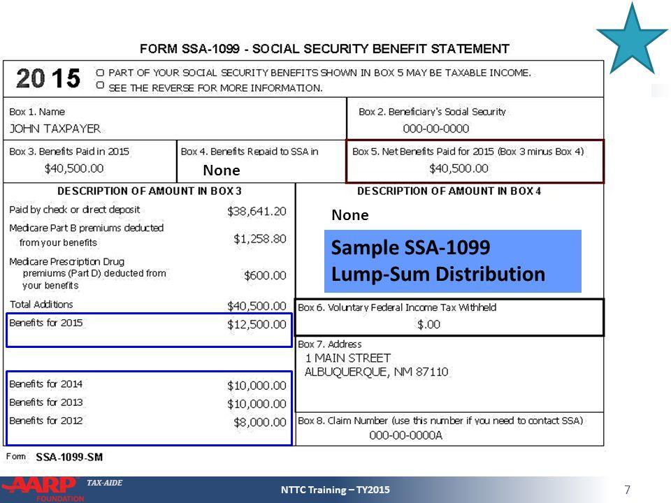 Form Ssa 1099 Tax Filing