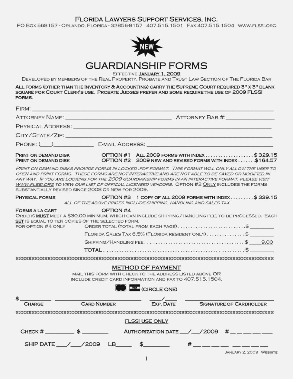 Free Temporary Guardianship Forms Kansas