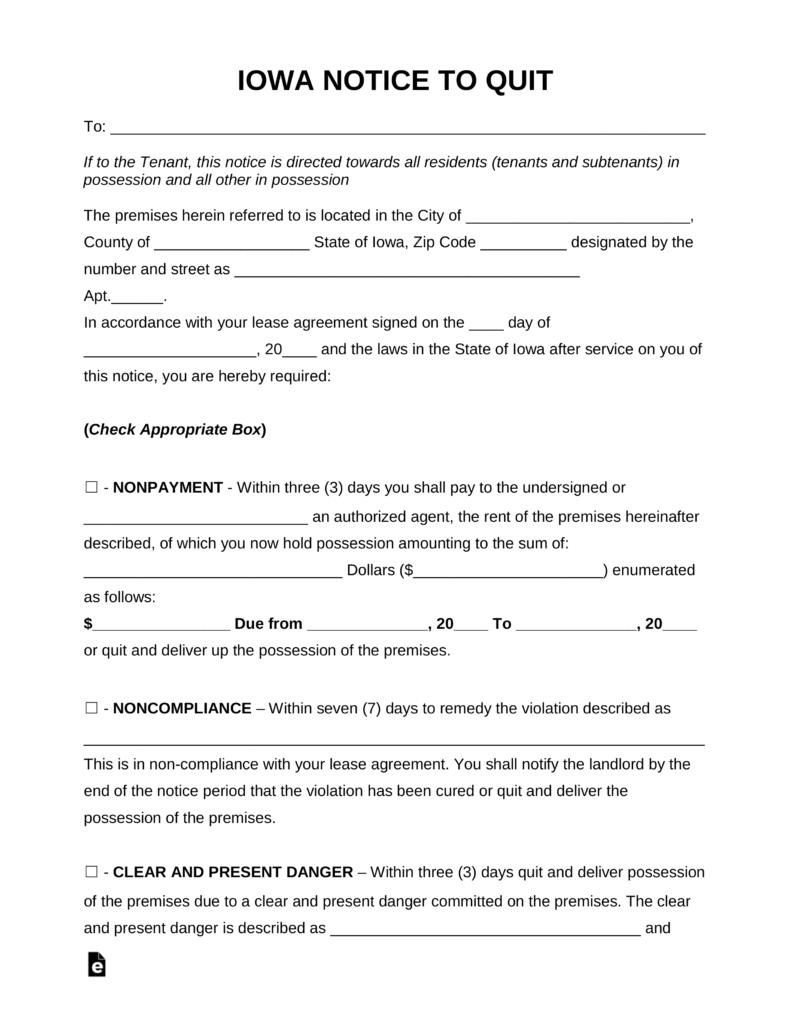 Iowa Divorce Forms Free