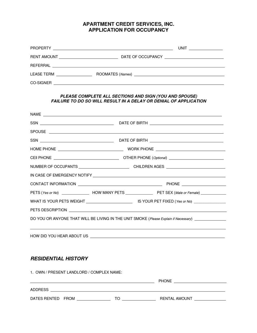 Lease Extension Form Qld