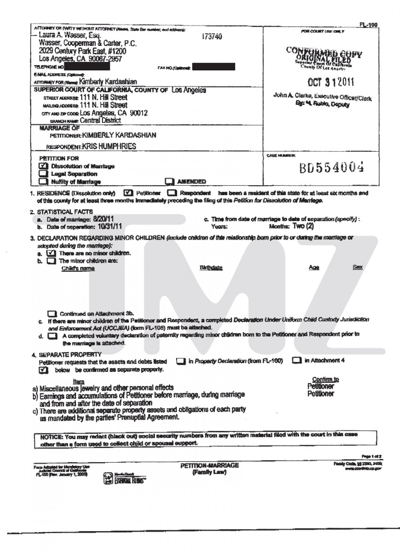 Nj Divorce Forms Print Out
