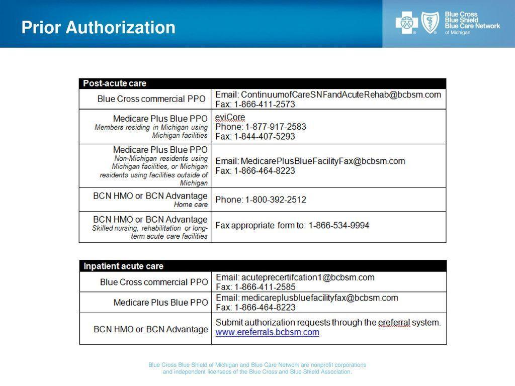 Prior Authorization Form For Medicare Plus Blue