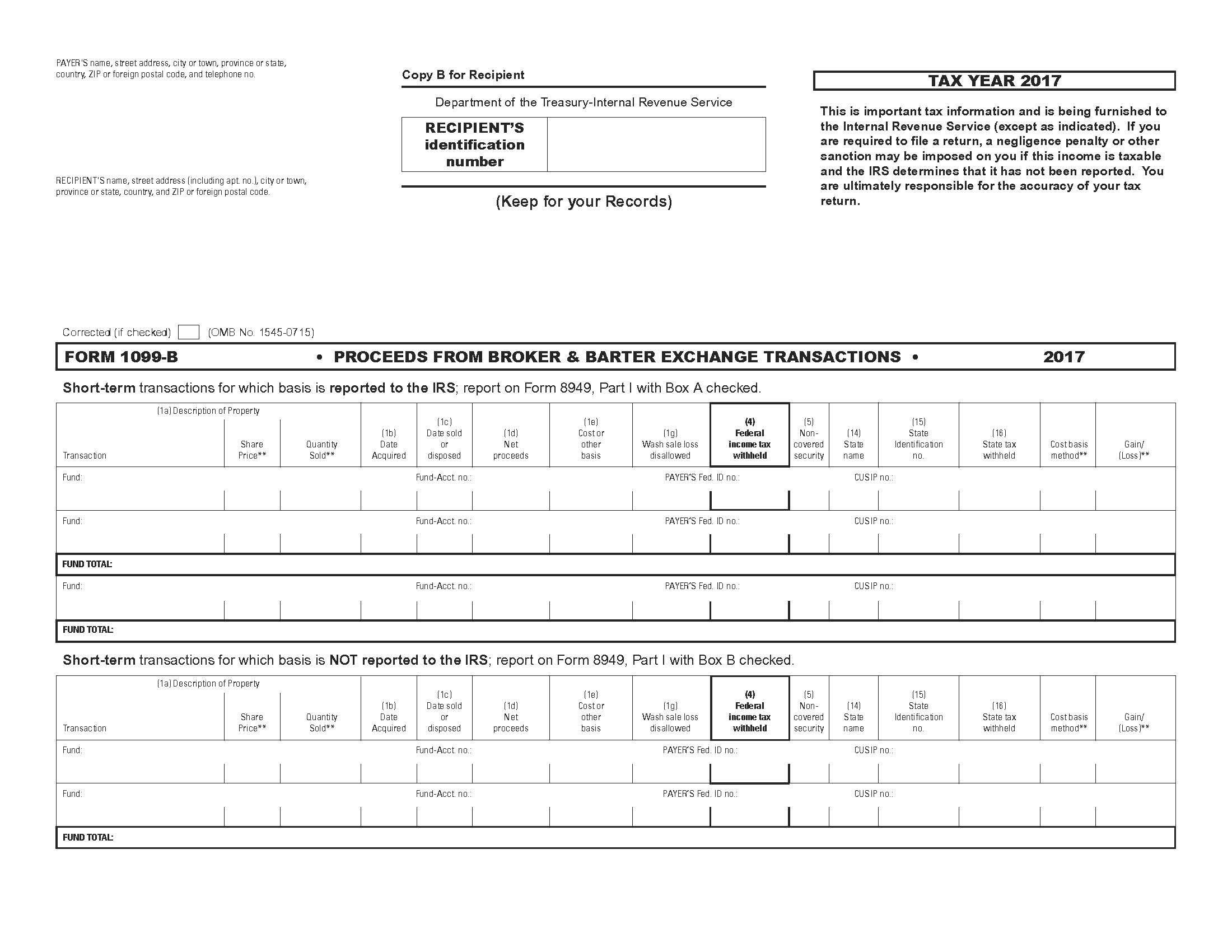 Tax Forms 1099 R