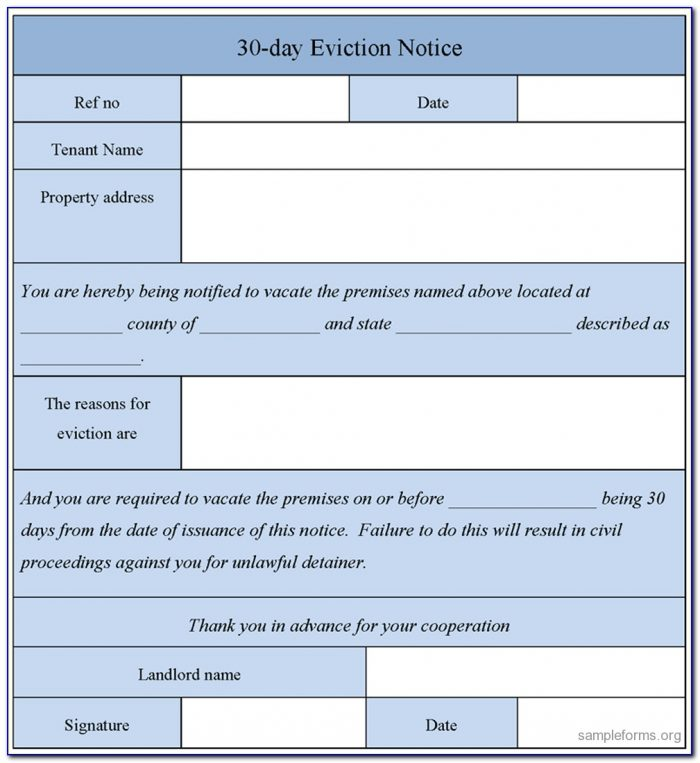 5 Day Eviction Notice Arizona Forms