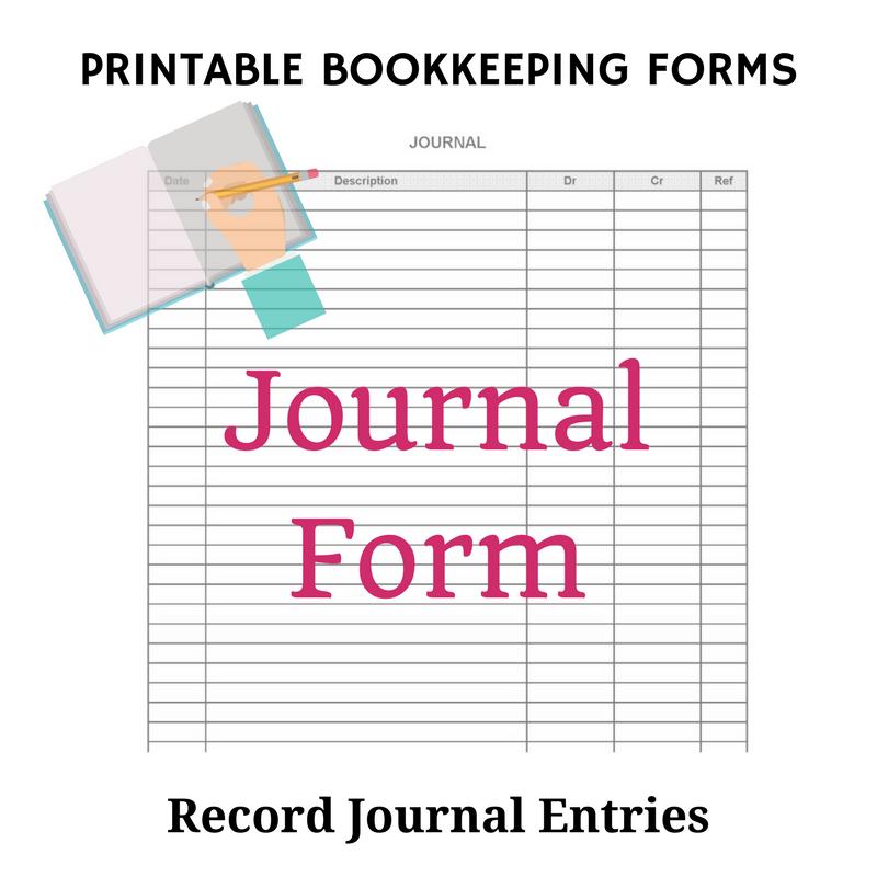 Accounting Forms Printable