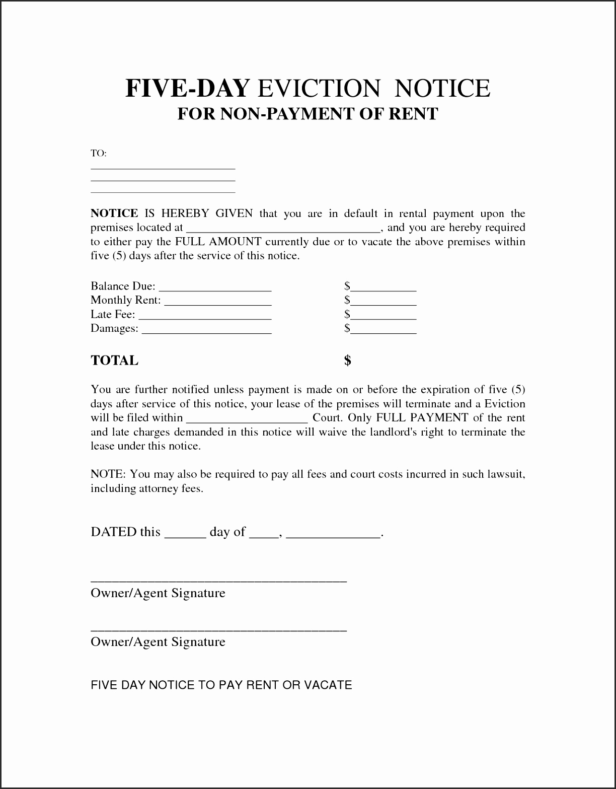 Alabama Eviction Notice Form Yjdgl Unique Rental Eviction Notice Form Template Examples