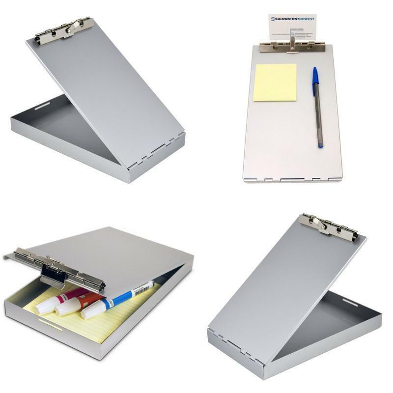 Aluminum Form Holder Storage Clipboard