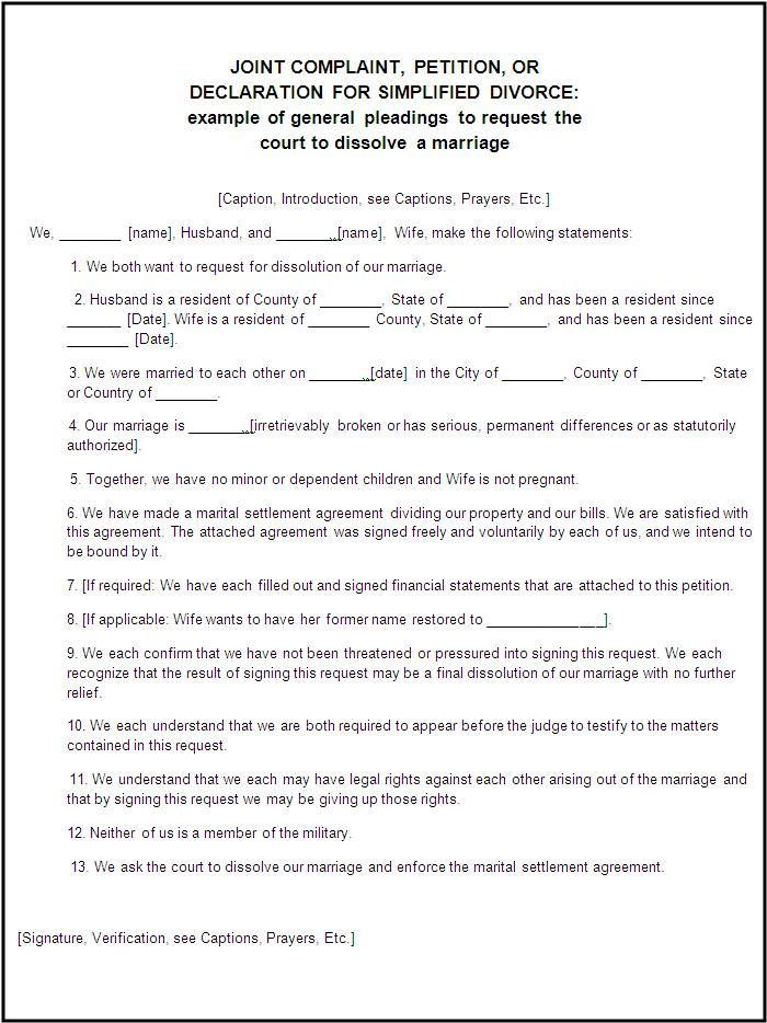 Application Form For Divorce In Mauritius