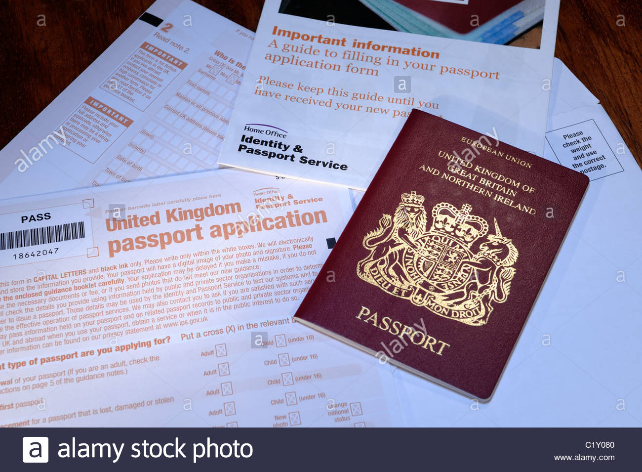 Application Form For Lost Passport Uk