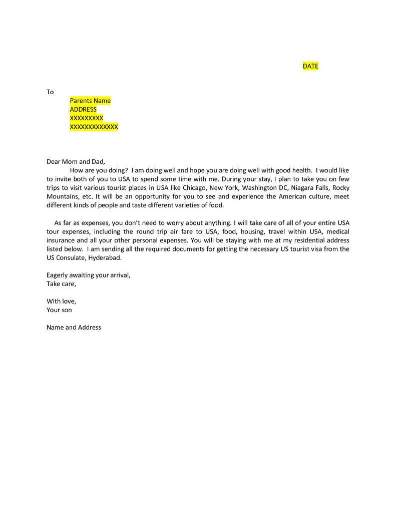 Australian Visitor Visa Subclass 600 Application Form Beautiful Sample Invitation Letter For Australian Tourist Visa 676 Fresh 33