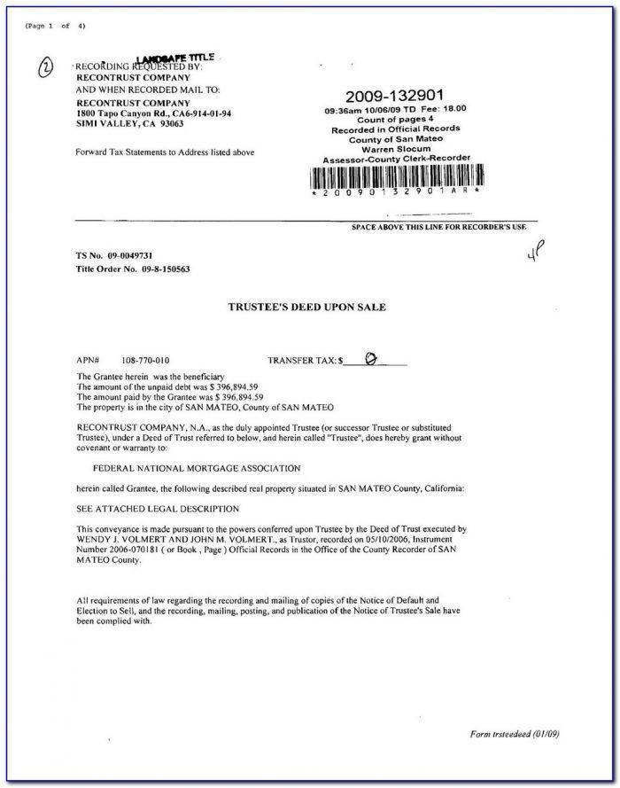 Nfa Trust Document | Universal Network