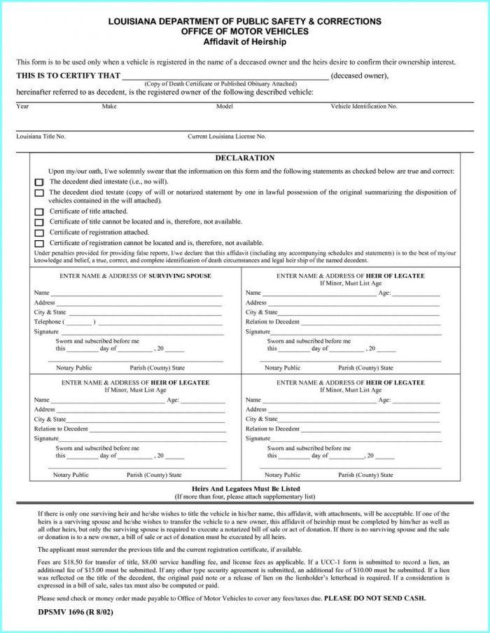 California Small Estate Affidavit Form Pdf   Universal Network