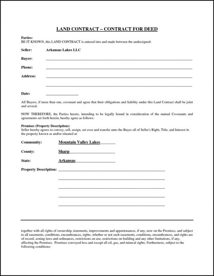 Cancellation Of Land Contract Form Ohio
