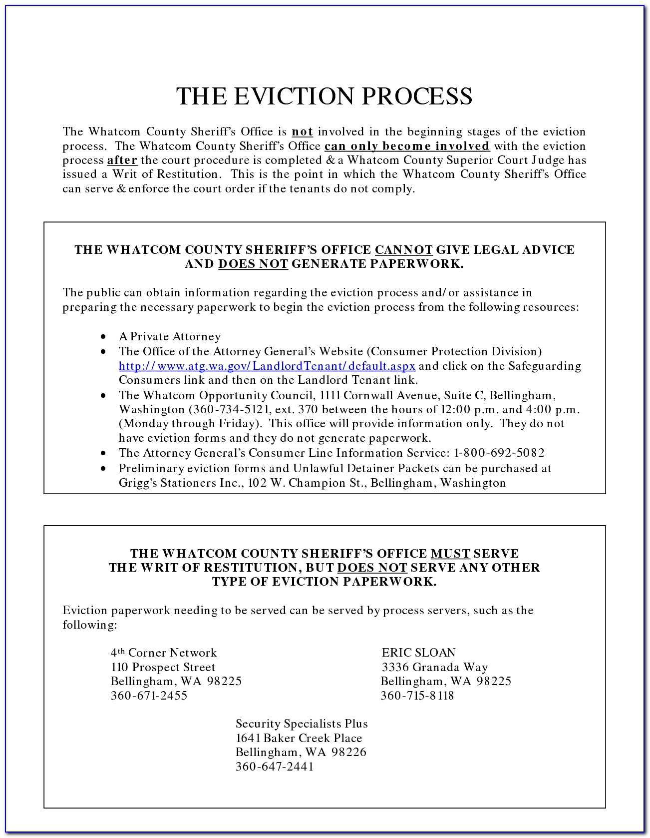 Clark County Court Eviction Forms